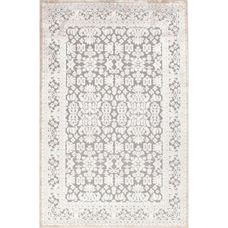 Transitional Oriental Pattern Blue Rug (2' x 3')