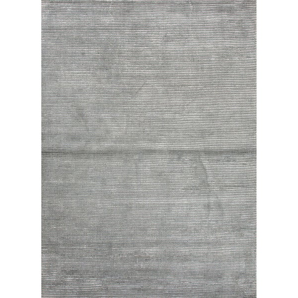 Phase Handmade Solid Gray/ Silver Area Rug (2' X 3') - 2' x 3'