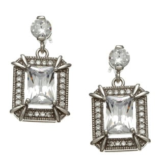 La Preciosa Sterling Silver CZ Earrings