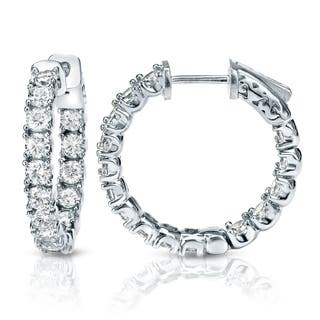 Auriya 14k Gold 3ct TDW Diamond Hoop Earrings|https://ak1.ostkcdn.com/images/products/8184540/P15521163.jpg?impolicy=medium