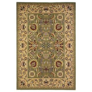 Domani Legacy Kashan Green/Taupe Rug (3'3 x 4'11)