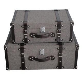 Mandalay Tweed Suitcases