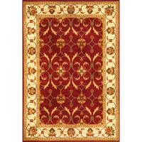Domani Connections Vintage Red/Ivory Rug - 3'11 x 5'3