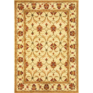 Domani Connections Vintage Ivory Rug (3'11 x 5'3)
