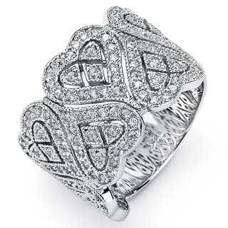 Sterling Silver Cubic Zirconia Heart Ring|https://ak1.ostkcdn.com/images/products/8184636/8184636/Sterling-Silver-Cubic-Zirconia-Heart-Ring-P15521345.jpg?impolicy=medium