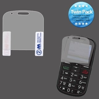 INSTEN Clear Screen Protector Twin Pack for Alcatel A382G