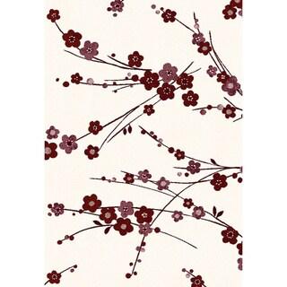 Eternity Cherry Blossom Rug (6'7 x 9'6)