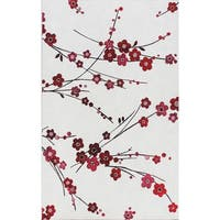 Eternity Cherry Blossom Rug - 6'7 x 9'6
