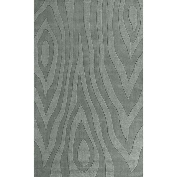 Domani Symmetry Wood Grains Ocean (5' x 8')