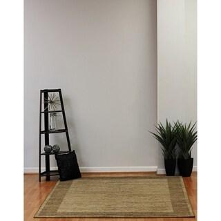 Eternity Floral Grey Rug (3'11 x 5'7)