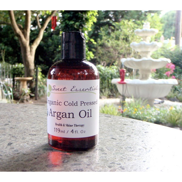 Pure USDA Certified Organic Argan Oil (Imported from Morocco)