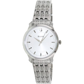 Bulova Women's 'Thin' Stainless Steel Watch