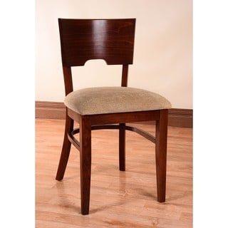 Card Linen Upholstered Dining Chairs (Set of 2)