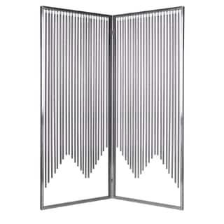 Handmade 84-inch Ensemble 2-Panel Stainless Steel Screen (China)