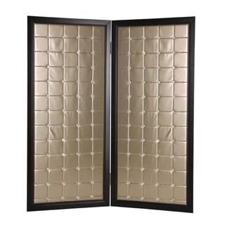 Handmade Beau Monda 2-Panel Wooden Screen (China)