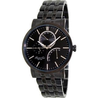 Kenneth Cole Men's 'Dress Sport' Black Stainless Steel Watch