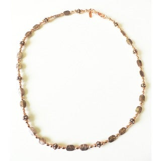 Palmtree Gems 'Crazy for Copper' Necklace
