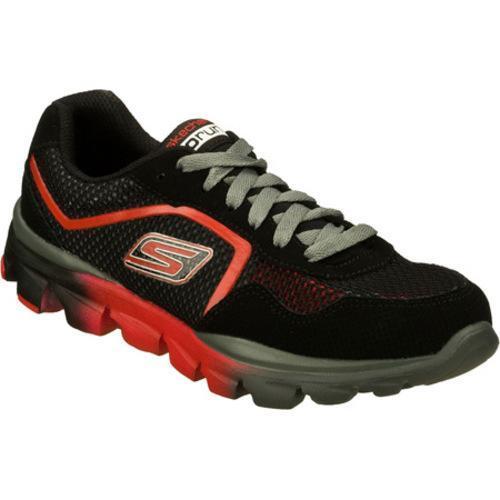 Boys' Skechers GOrun Ride Supreme Black/Red