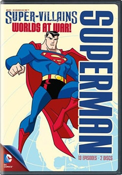 DC Super Villains Superman: Worlds At War (DVD)