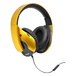 SYBA Multimedia Oblanc SHELL210 Saffron Yellow Subwoofer Headphone w/
