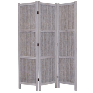 Terrance 3-Panel Fabric Screen (China)