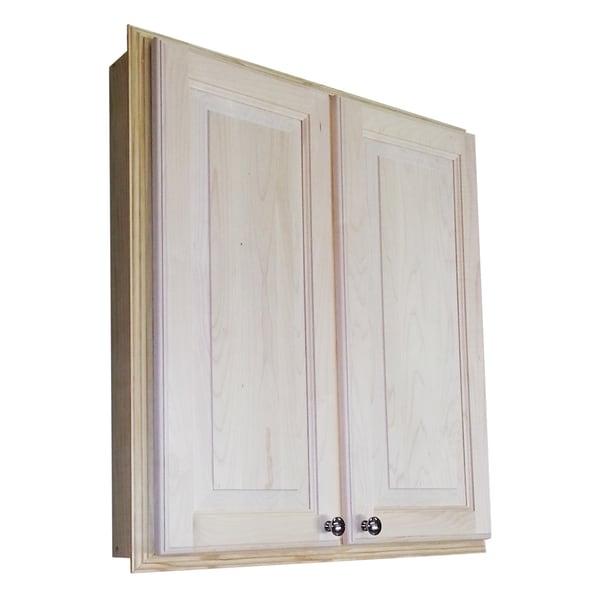 Baldwin 30 Inch Recessed Double Door Medicine Storage Cabinet Free