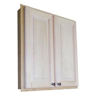 Baldwin 30-inch Recessed Dual Mount 2-door Medicine Storage Cabinet