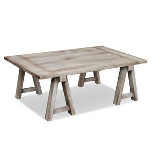 Decorative Sonoma Grey Rustic Vintage Cocktail Table