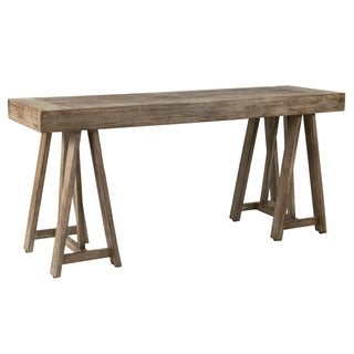 Decorative Sonoma Natural Distressed Vintage Console Table