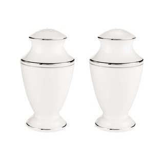 Lenox Federal Platinum Salt and Pepper Shakers Set