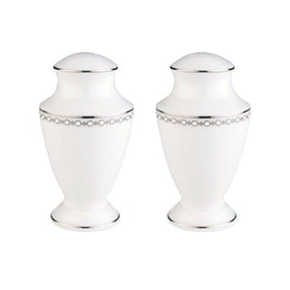 Lenox Pearl Platinum Salt and Pepper Shakers Set