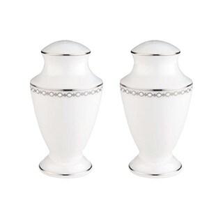 Lenox Pearl Platinum Salt and Pepper Shakers Set