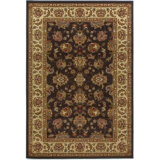 Domani Connections Kashan Mocha/Ivory Area Rug - 7'10 x 9'10