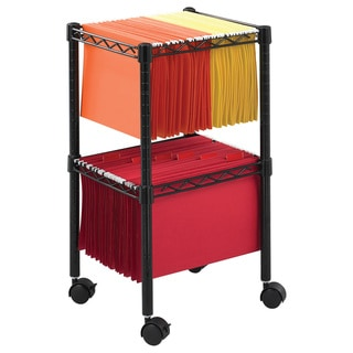 Safco Two Tier Rolling File Cart Free Shipping Today