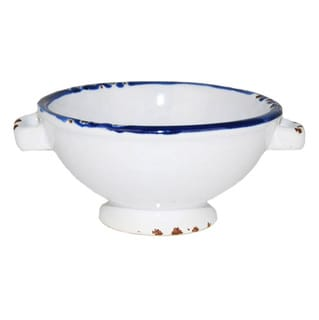 Small Hand-painted Enamel Vintage-style Bowls (Set of 8)