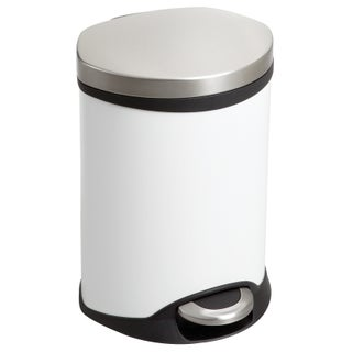 Safco Ellipse 1 1/2 gal. Step-on Waste Receptacle