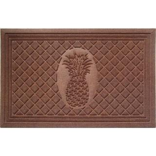 Weather Beater Pineapple Doormat (1'10 x 2'11)