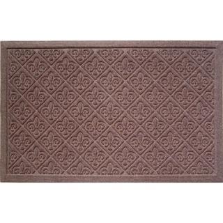 Weather Beater Fleur De Lis Doormat (1'10 x 2'11)