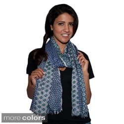Rayon Ikkat Summer Scarf (India)