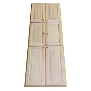 Baldwin 78-inch Recessed Dual Mount Pantry Storage Cabinet