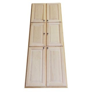 Baldwin 78-inch Recessed Double Door Pantry Storage Cabinet