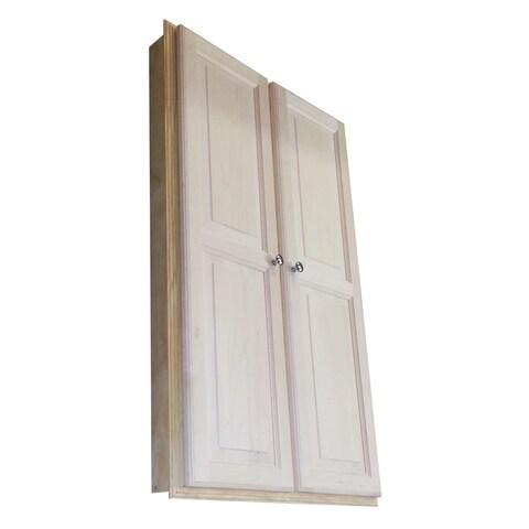 Baldwin 48-inch Recessed Double Door Medicine Storage Cabinet