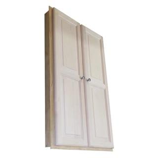 Etonnant Baldwin 48 Inch Recessed Double Door Medicine Storage Cabinet   Off White