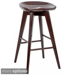 29-inch Bali Backless Swivel Bar Stool