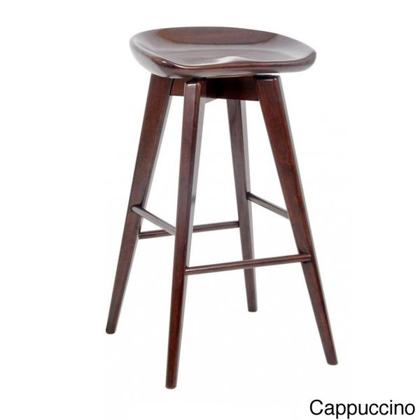 29 Inch Bali Backless Swivel Bar Stool Free Shipping
