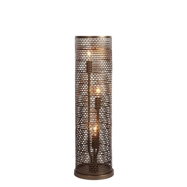 Varaluz Lit-Mesh Test 3-light New Bronze Table Lamp