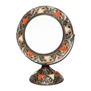 Inlaid Bone Vanity Moroccan Mirror (Morocco)