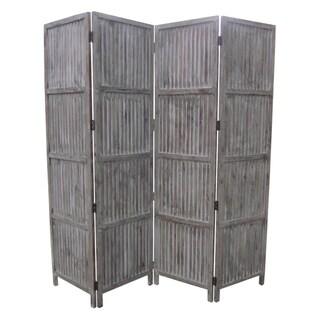 Palina 4-Panel Wooden Screen (China)