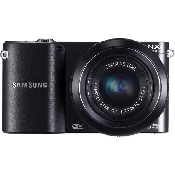Samsung NX1100 Mirrorless Black Digital Camera 20-50mm f/3.5-5.6 Lens