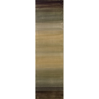 Generations Brown/ Beige Rug (2'7 X 9'1)